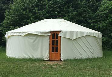 Sztrilich Pál Cserkészpark jurta és camping
